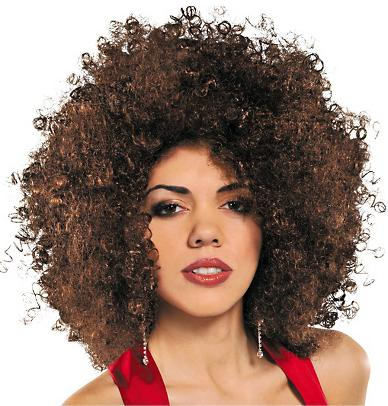PERUCA AFRO BROWN