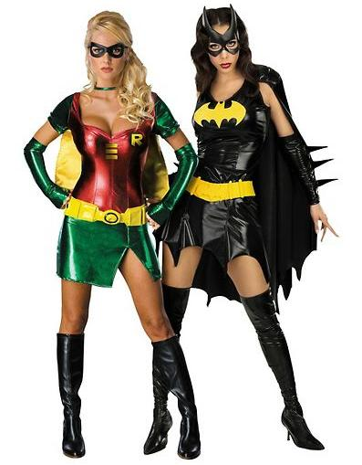 Sexy batman and robin costumes